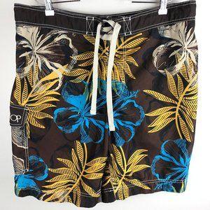 OP Ocean Pacific Swim Suit Board Trunks Size XL